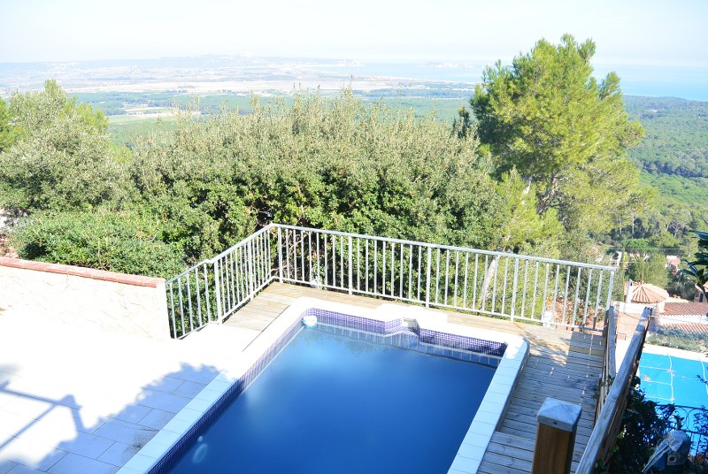 02625 - Semi detached house with private swimming pool and beautiful  views,  in Mas Tomasi, Pals.