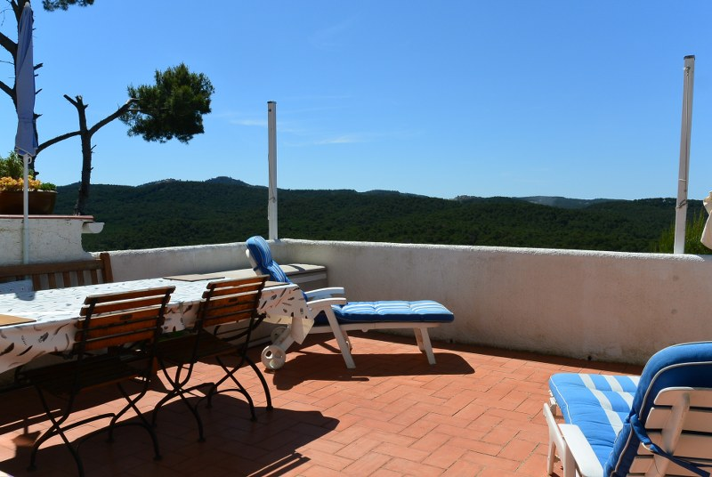 02762 - Terraced house  with  panoramic mountain views in Mas Tomasi, Pals, Costa Brava