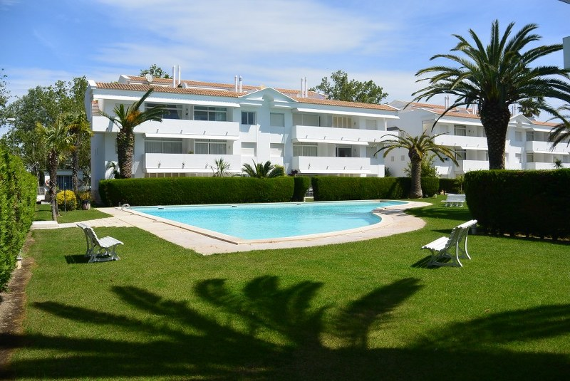 01380 - Beautiful duplex-attic apartment with private pool in Green Club, Playa de Pals