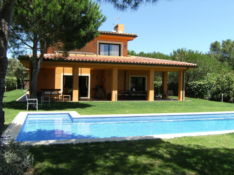02768 - Spectacular villa  with pool and large private garden in Casa de Campo, Begur