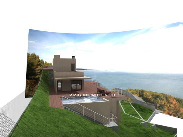 02678 - Modern house with swimming pool in Sa Riera, Begur